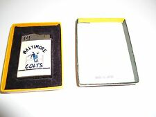 Vintage Hadson Blue Bird Pat. No. 141469 Baltimore Colts Lighter (w/ orig box &
