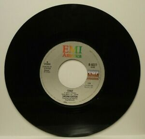 SHEENA EASTON STRUT-LETTERS FROM THE ROAD (VG+) B-8227 45 RPM VINYL RECORD
