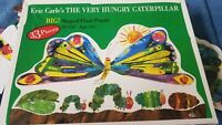 Rare Eric Carle Butterfly The Very Hungry Caterpillar Big Floor Puzzle - 33 Pcs