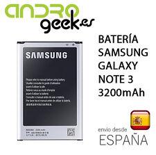 Batería para Samsung Galaxy Note 3 3200mAh.Envío ORDINARIO desde España gratis