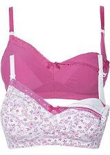 Schöne Umstandsmoden Still Bhs 2tlg. in Pink / Weiß - Gr. 75 C - Q1218 - 979908