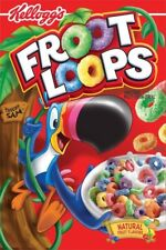 Kellogg's (Fruit) Froot Loops Cereal American Import 345g  ***FREE DELIVERY***