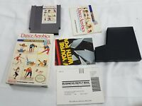 Dance Aerobics Nintendo Entertainment System NES GAME COMPLETE IN BOX