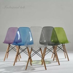 CLEAR GHOST TRANSPARENT MODERN PLASTIC EIFFEL INSPIRED DINING CHAIR