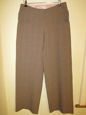 RINGSPUN sharks tooth slacks TROUSERS RP£60 new 8 check
