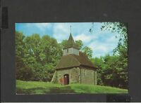 Vintage  Postcard Lullington Church smallest in England East Sussex unposted