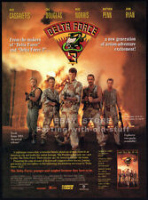 DELTA FORCE 3__Original 1991 Trade print AD promo__NICK CASSAVETES__MIKE NORRIS