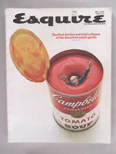Esquire Magazine - May, 1969 ~~ Andy Warhol Campbell's Tomato Soup Can
