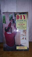 DIY Tips, home improvement projects book, Frank Preston