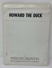 VINTAGE HOWARD THE DUCK 1986 Movie Original Press Kit With Photos LUCASFILM