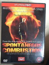 Brad Dourif ESPONTÁNEA COMBUSTIÓN 1990 Tobe Hooper Culto Horror Película RU DVD