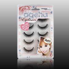 112# 5Pairs Japanese Makeup Handmade Natural Thick Eye Lashes False Eyelashes