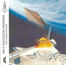 SIR-C Education Program Pre-Launch PC CD science technology radar images earth +