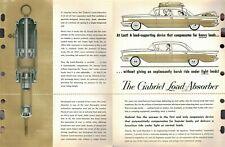 "Vintage 1960 AD ""GABRIEAL Load-Absorber SHOCKS"" Jobbers SELL SHEET ADVERTISING"