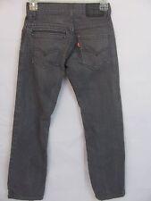 Levis 511 Classic Grey Jeans Size 10  25x25