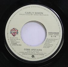 Pop 45 Carly Simon - Come Upstairs / Them On Warner Bros.Records, Inc.