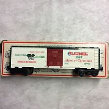 LIONEL  #19903  1987 CHRISTMAS BOXCAR