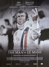 LE MANS - STEVE MCQUEEN - CAR RACING / SPORT -ORIGINAL LARGE FRENCH MOVIE POSTER