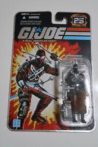 G.I. Joe 25th Anniversary SNAKE EYES - Silver Foil Card NEW SEALED