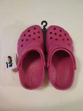 NWT Girls Jibbitz by Crocs Sandals~Pink~Size L & XL
