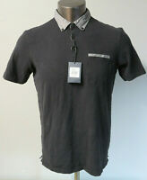 Mens Goodlife Solid Gray Short Sleeve Cotton USA Polo Style Shirt Size Large L
