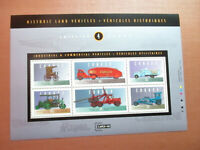 CANADA VEHICULES SOUV SHEET #4 MNH #1604 - Vintage cars