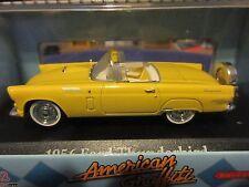 1:43 O Scale 1956 Ford Thunderbird Convertible American Graffiti Motor Max