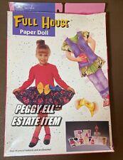 "1992 GOLDEN & LORIMAR TV ""FULL HOUSE PAPER DOLL"" MICHELLE BOXED SET #5553"