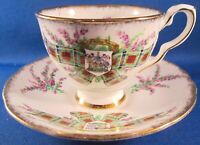 Royal Stafford Maclean Bone China Tea Cup & Saucer - Tartan Series -England