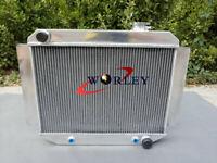 56mm 3 row Aluminum Radiator 66-71 Holden HR HK HT HG 6CYL Auto/Manual AT MT