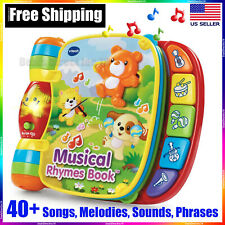 Musical Toys for Babies Toddlers Kids 1 2 3 Year olds Educational Rhymes Book