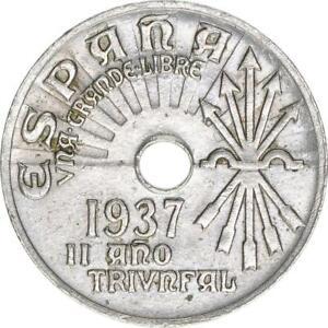 Spanien, 25 Centimos 2/1937, A67837