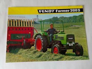 Traktor Fendt Farmer 200S Prospekt