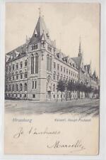 AK Strasbourg, Strassburg, Hauptpostamt, 1904