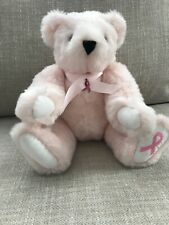 """15"""" Breast Cancer Edition Jointed Teddy Bear by The Vermont Teddy Bear Company"""