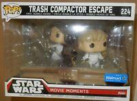 Funko Pop Trash Compactor Escape #224 Star Wars Movie Moments Still in the Box