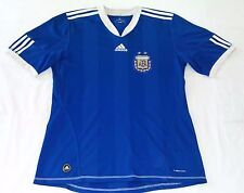 2010 SELECCION ARGENTINA AWAY ADIDAS LARGE WORLD CUP MESSI JERSEY LEO PALERMO