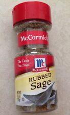 0.5 oz (14 g) of McCormick Rubbed SAGE Herbs Spice Seasoning