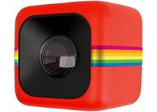 POLAROID Red CUBE HD Camera Action Camcorder Sports Cam Helmet Video Recorder