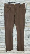 Bonobos Mens Washed Cords Slim Fit Pants Corduroys Brown Size 38x36 Meas 40x37
