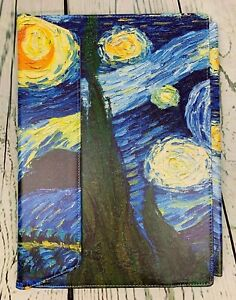 Protective Case Cover fits 14 in HP Pavilion Laptop Starry Night PU Leather