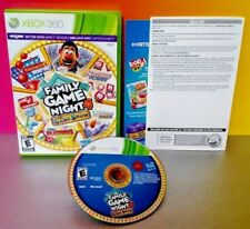 Family Game Night 4 Hasbro - XBOX 360 -  Rare Game Tested bop it connect 4 Flash