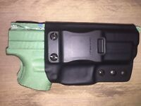 "IWB Holster - XD 4"" SERVICE MODEL 9/40/45 - 0 Cant"
