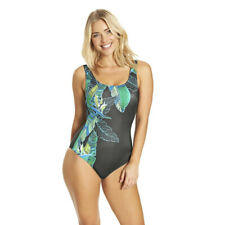 Zoggs Mystic Mandala Scoopback Size 8 Swimming Costume Body Shaping RRP £40