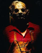 DAN YEAGER as Leatherface - Texas Chainsaw 3D GENUINE AUTOGRAPH UACC (R8340)