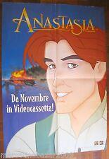 ANASTASIA (1997) LOCANDINA POSTER 99 X 68,5 cm PIEGATO