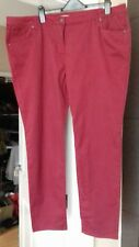 ladies burgundy 'NEXT' skinny jeans Size 20 Brand new with tags