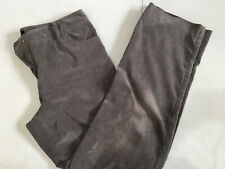 Larry Levine Women's Corduroy Grey Pants Size: 10 $98