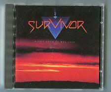 Survivor cd DIDN'T KNOW IT WAS LOVE 1988 INT 847.330 Alternative Cover Variation
