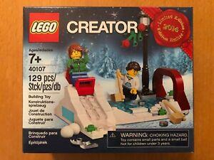 LEGO de Noël - Patinage En Hiver (40107) Edition Limitée 2014. Neuf et scellé